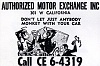 Click image for larger version.  Name:authorized motor exchange 301 w california.jpg Views:189 Size:84.8 KB ID:2057