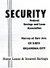 Click image for larger version.  Name:security federal savings and loan harvey kerr.jpg Views:197 Size:92.0 KB ID:2438
